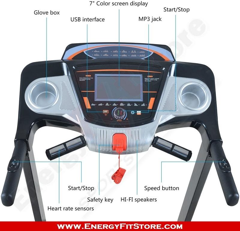 Tapis Roulant L6068SD Semi-Professionnel EnergyFitStore.com