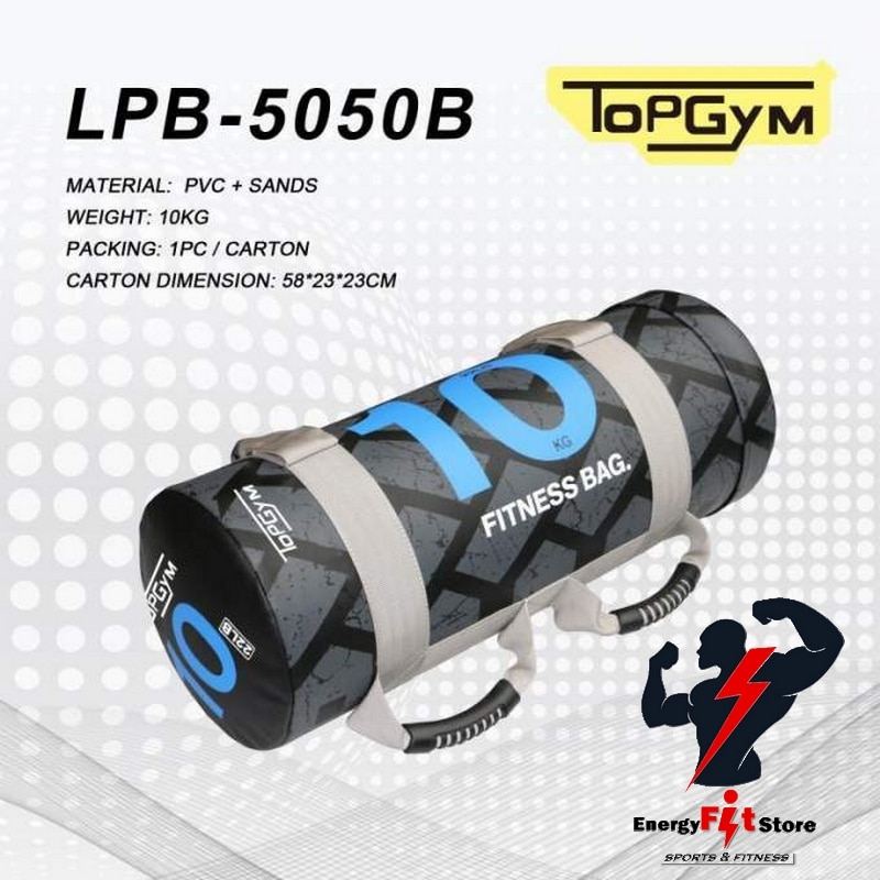 Sac de sable Fitness Power Bag 10 kg