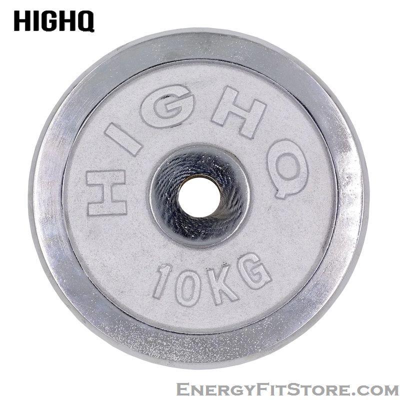 Disque Chromée Weight Plates HIGHQ 30mm